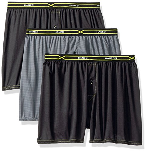 9aa8f5f25e Hanes Men's 5 Pack Ultimate Tartan Boxers - Colors May Vary,Large ...